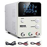 DC Einstellbar Stromversorgung COODEN Labornetzgerät 0-30V 0-10A DC regulated power supply switch...