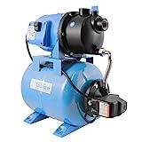 Güde 94667 HWW 3100 K Hauswasserwerk (600W Motorleistung, X4 Schutzart, 3100 l/h Fördervolumen,...