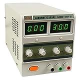 Komerci Labornetzgerät Netzteil Stromversorgung Transformator regelbar Digitalanzeige 0-30V 5A 150W...