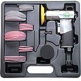 Druckluft-Exzenterschleifer im Kunststoff-Koffer inkl. Stützteller in 2' und 3'