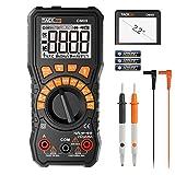 Tacklife DM09 Multimeter Digital Voltmeter Amperemeter für AC/DC Spannung Strom AC Frequnez...