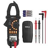 Tacklife CM01A Advanced Digital Clamp Meter Zangen Multimeter Amperemeter mit 4000 Counts Messen von...