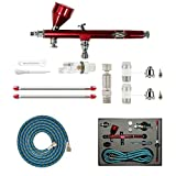 Abest New Professional 0,2 mm \ 0,3 \ 0,5 mm Dual-Action Airbrush Spray Gun Kit Komplett-Set für...