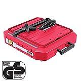 WALTER Werkzeuge TC115IA Elektrischer Fliesenschneider, 500 W, 230 V, Rot/Schwarz