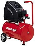 Einhell TH-AC 200/24 OF Kompressor (1.100W, 140 l/min Ansaugl., 24l Kessel, 8bar max. Betriebsdruck,...