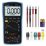 Digital Multimeter, mit Auto-Range Morpilot 6000Counts Advanced Strommessgerät Voltmeter Ohmmeter...