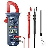 AstroAI Clamp Meter Digitaler Stromzange Multimeter mit 2000 Counts, Auto Range, Spannungsprüfer,...