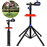 Yaheetech 360° drehbar Reparaturständer 50 kg Unterstützt Fahrrad Montageständer...