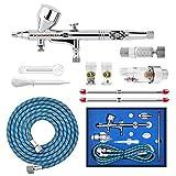 Gocheer Airbrush Pistolen Set-Double Action Airbrush Spray Kit,mit Luftfilter schnellkupplung,3...