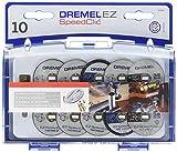 Dremel SC402 EZ SpeedClic Trennscheiben und Aufspanndorn-/Schneide-Set (mit 8 Zubehörteilen und 1...