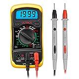 ULTRICS Digital Multimeter LCD, Voltmeter, Amperemeter, Spannungsprüfer, Ohmmeter, Strommessgerät,...