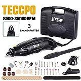 Multifunktionswerkzeug, TECCPO 8000-35000 U/min 170W Mehrzweckschleifmaschine, Drehwerkzeug, Rotary...
