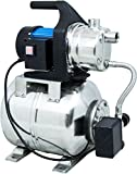 Güde 94637 HWW 1000E Hauswasserwerk (Motorschutzschalter, 1000W, 3500l/h, Druckschalter, 19 l...