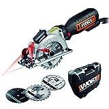 Worx 710W Worxsaw XL Handkreissäge, WX427, 230 V, 710 W mit Laserguide