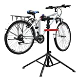 amzdeal Fahrradmontageständer Reparaturständer mit Werkzeugablage - klappbar & höhenverstellbaron...