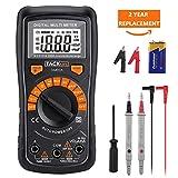 Tacklife DM02A Multimeter Digital Voltmeter Amperemeter Spannungsmesser Strompr¨¹fer...