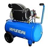 HYUNDAI Kompressor AC5001E (Druckluftkompressor mit 50 Liter Druckbehälter, ölgeschmiert,...