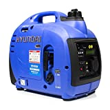 Hyundai HY1000SI 1000W Benzinenerator, tragbar, blau