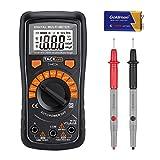 Tacklife DM02A Klassisches Digital Multimeter Auto Range Multi Tester zum Messen von Gleich(DC) -...