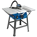 Scheppach Tischkreissäge HS100S, vielseitige Kreissäge mit HW-Sägeblatt 250 mm, mit...