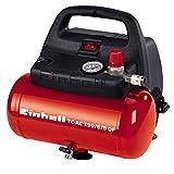 Einhell Kompressor TC-AC 190/6/8 OF (1100 W, 6 L, Ansaugleistung 185 l / min, 8 bar, ölfrei,...