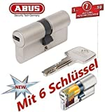 ABUS EC550 Profil-Doppelzylinder Länge 30/30mm mit 6 Schlüssel