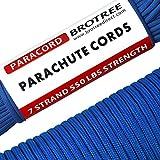 Brotree Paracord 550 Schnur mit 7 Strängen Nylonschnur Fallschirmschnur Typ III Mil Spec Survival...