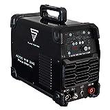 STAHLWERK AC/DC WIG 200 Puls D, Schwarz, Vollausstattung, digitales Schweißgerät mit 200 Ampere...