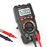 Digital Multimeter, KAIWEETS® Strommessgerät Auto Ranging True RMS 4000 Counts, Messung von AC/DC...