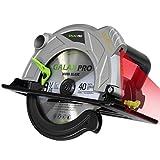 Handkreissäge, GALAX PRO Professional Kreissäge 2000W 5000RPM mit Laser maximale Schnitttiefe 85mm...