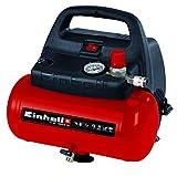 Einhell Kompressor TC-AC 190/6/8 OF (1.100 W, max. 8 bar, öl-/servicefreier Motor, 6 Liter...