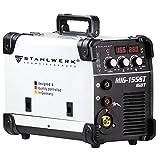 STAHLWERK MIG 155 ST IGBT - MIG MAG Schutzgas Schweißgerät mit 155 Ampere, FLUX Fülldraht...