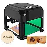3W Desktop-Lasergravierer mit 3.1 * 3.1 im Arbeitsbereich für Anfänger,...
