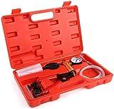 femor Vakuumpumpe Bremsenentlüfter Bremsenentlüftungsgerät Vakuum Vakuumtester Set Anzeige bis...