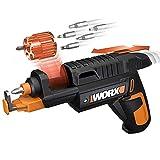 WORX WX255 Akkuschrauber mit automatischem Wechsel des Bit-Magazins & optionalem Schraubenhalter...