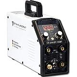 STAHLWERK CT550 ST, kompaktes WIG MMA Schweißgerät mit Plasmaschneider, bis 12mm, 200 Ampere WIG...