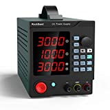 Labornetzgerät, RockSeed 0-30V / 0-5A, Regelbar, Labornetzgerät DC mit 4-stelliger LED-Anzeige,...