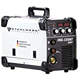 STAHLWERK MIG 135 ST IGBT - MIG MAG Schutzgas Schweißgerät mit 135 Ampere, FLUX Fülldraht...