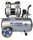 HYUNDAI Silent Kompressor SAC55753 (Druckluftkompressor, ÖLFREI, Flüsterkompressor mit 59 dB(A),...
