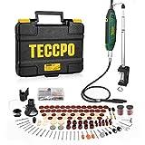 Multifunktionswerkzeug, TECCPO 200W Drehwerkzeug mit Teleskoparm und Tischklemme, mit 120 Zubehör,...