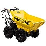 DENQBAR Mini-Dumper Motor-Schubkarre Muldenkipper Allradantrieb 300 kg