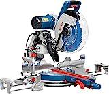 Bosch Professional Kapp- und Gehrungssäge GCM 12 GDL (Sägeblatt-Ø: 305 mm, 2.000 Watt, inkl....