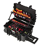 Wiha Werkzeugkoffer gefüllt (42069), 115 tlg., Werkzeug Trolley bestückt für...
