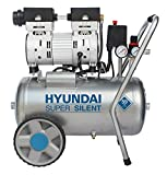 HYUNDAI Silent Kompressor SAC55752 (Druckluftkompressor, ÖLFREI, Flüsterkompressor mit 59 dB(A),...