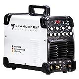 STAHLWERK AC/DC WIG 200 Puls ST Schweißgerät mit 200 Ampere WIG MMA viele Schweißparameter...
