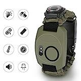 Achort Paracord Survival Armband Kit für Herren Damen, 8 in 1 Survival Armband mit Feuerstein +...