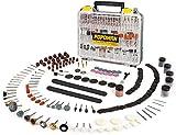 Zubehörset für Multifunktionswerkzeug, POPOMAN 313-teilig Mehrzweck Zubehörset Werkzeug Universal...