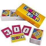 ZENAGAME Family Boom - Brettspiel für die gesamte Familie - 300 Einzigartige Karten, Spaßige...