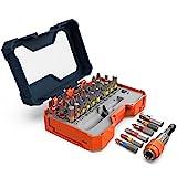 Presch Bit Set Box 32 teilig - Schrauberbit Satz mit vollständigem Bitsortiment und magnetischem...