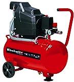 Einhell Kompressor TC-AC 190/24/8 (max. 8 bar, 24 l-Tank, Ölschmierung, Druckminderer, Manometer +...